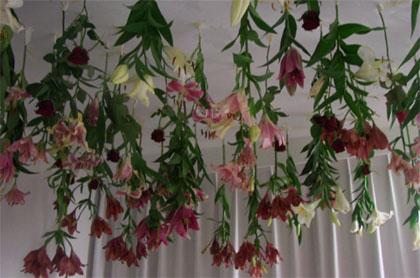 installation flowers